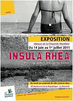 Photo : La Rochelle - exposition : photographies d'Eugène Estier jusqu'au 1er juillet 2011