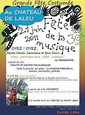 Photo : La Rochelle : fête de la musique à Laleu, mardi 21 juin 2011 à partir de 15h