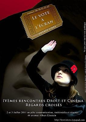 Photo : La Rochelle : droit et cinéma, le vote à l'écran - sam. 2 et dim. 3 juillet 2011