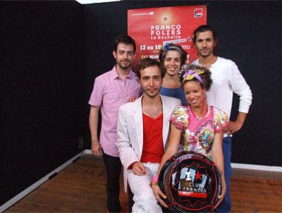 Photo : Ginkgoa : prix Coup de Coeur du club entreprises 2011