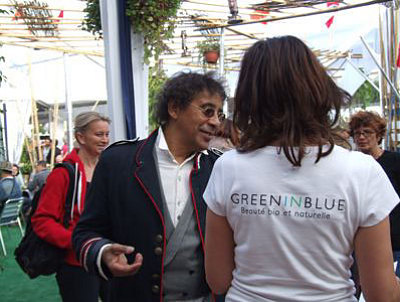 Photo : Laurent Voulzy chez Green in Blue !