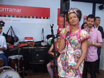 Photo : Chantier des Francos : Ginkgoa, prix du club entreprises 2011