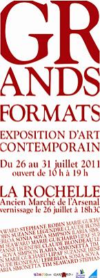 Photo : La Rochelle - exposition : Grands Formats du 23 au 31 juillet 2011