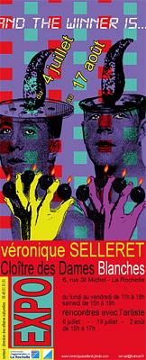 Photo : La Rochelle - exposition : Véronique Selleret au Cloître des Dames Blanches jusqu'au 17 août 2011