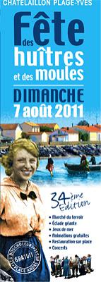 Photo : La Rochelle - Châtelaillon-Plage : fête des Boucholeurs, dimanche 7 août 2011