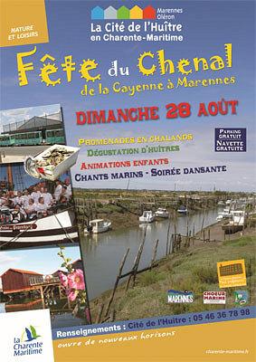 Photo : Charente-Maritime : la cité de l'huître et la fête de la Cayenne à Marennes, dimanche 28 août 2011