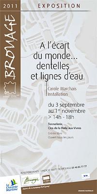 Photo : Charente-Maritime - exposition : installation de Carole Marchais à Brouage 3 sept - 1er nov. 2011