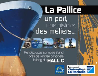 Photo : La Rochelle - Port de commerce : sur le stand de la CdA à la Foire Expo jusqu'au 4 sept. 2011