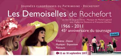 Photo : Rochefort fête les Demoiselles : cinéma, danse et patrimoine jusqu'au 18 sept. 2011 !