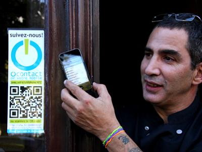 Photo : NFC au restaurant Les pieds dans le plat, Paris 15e
