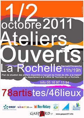 Photo : La Rochelle : ateliers ouverts sam. 1Er et dim. 2 octobre 2011