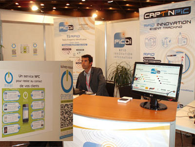 Photo : Avec PICDI au RFID Congress - Lille 2011