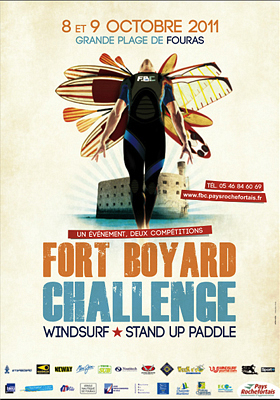 Photo : Charente-Maritime : Fort Boyard Windsurf Challenge, sam. 8 et dim. 9 oct. 2011 à Fouras