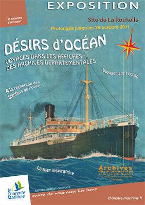 Photo : La Rochelle - Jonzac : expos - conférences aux Archives octobre 2011