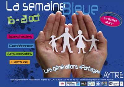 Photo : Agglo de La Rochelle - Aytré : inter-générations, Semaine Bleue du 16 au 21 octobre 2011