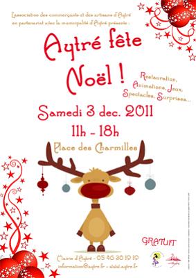 Photo : Région de La Rochelle : Aytré fête Noël, samedi 3 décembre 2011