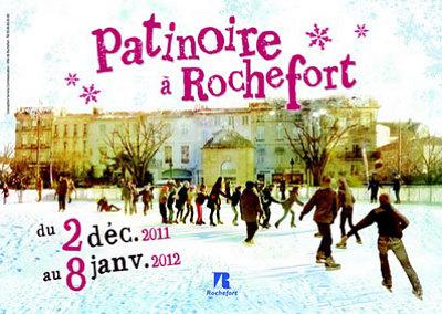Photo : Charente-Maritime - Rochefort : patinoire à ciel ouvert du 2 décembre 2011 au 8 janvier 2012 !