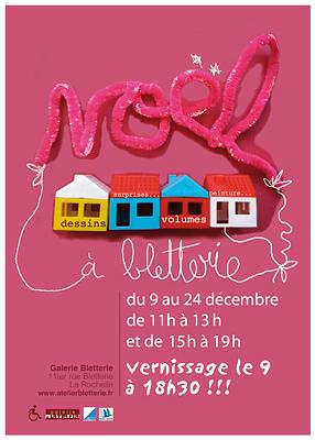 Photo : La Rochelle : Noël du côté des artistes à la Galerie Bletterie du 9 au 24 décembre 2011