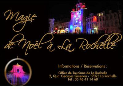 Photo : La Rochelle : ville, histoire et magie de Noël avec l'Office du tourisme, décembre 2011