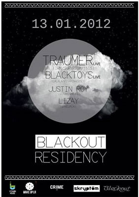 Photo : La Rochelle DJs : Vitamin House BLackout Residency, vendredi 13 janvier 2012