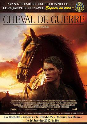 Photo : Cinéma - Charente-Maritime : Cheval de guerre en avant-première, jeudi 26 janvier 2012 pour