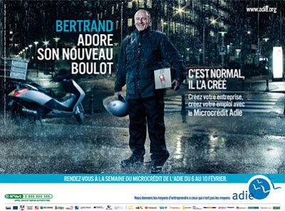 Photo : La Semaine du micro-crédit à La Rochelle du mardi 7 au vendredi 10 février 2012