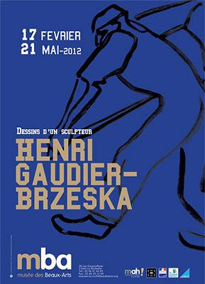 Photo : Exposition à La Rochelle : Henri Gaudier-Brzeska, dessins d'un sculpteur au Mba jusqu'au 21 mai 2012