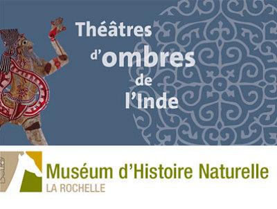 Photo : La Rochelle : théâtre d'ombres de l'Inde, exposition au Muséum jusqu'au 30 mars 2012