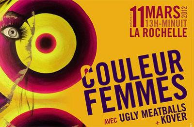 Photo : La Rochelle : 3e édition de Couleurs Femmes, dimanche 11 mars 2012