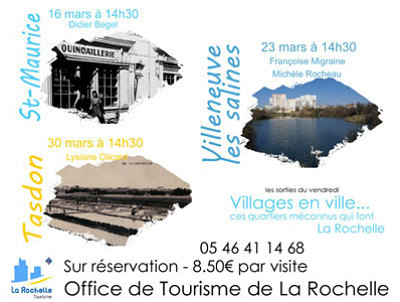 Photo : La Rochelle : villages en ville avec l'Office de tourisme, les vendredis du mois de mars 2012