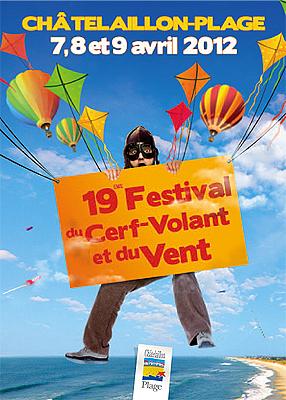 Photo : La Rochelle Sud : 19e festival du cerf-volant et du vent à Châtelaillon-Plage 7 - 9 avril 2012