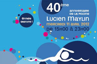 Photo : La Rochelle fête les 40 ans de la piscine Lucien Maylin, mercredi 11 avril 2012 15h-23h !