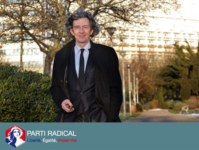 Photo : Avant le 1er tour de la présidentielle : François Drageon, Parti Radical