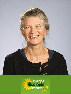 Photo : Avant le 1er tour de la présidentielle : Brigitte Desveaux, EELV