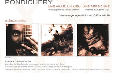 Photo : La Rochelle : Pondichéry, exposition et littérature du 3 au 31 mai 2012