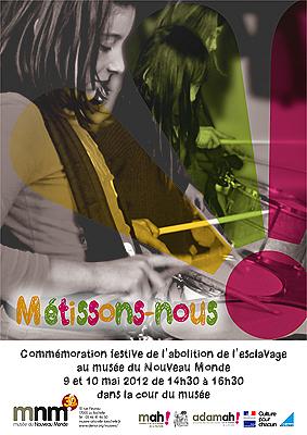 Photo : La Rochelle : Métissons-nous ! spectacles, expo - musée du Nouveau Monde, 9-10 mai 2012