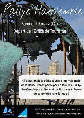 Photo : La Rochelle, ville hanséatique : rallye avec l'Office de tourisme, samedi 19 mai 2012