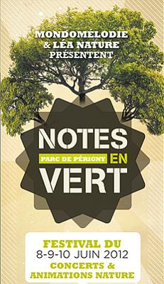 Photo : Concerts La Rochelle - Périgny : 1er festival Notes en Vert, vend. 8 - dim. 10 juin 2012