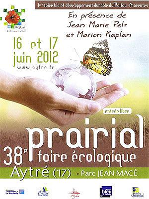 Photo : La Rochelle - Aytré : Prairial, 38e foire écologique, sam. 16 et dim. 17 juin 2012