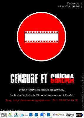 Photo : La Rochelle - Censure et cinéma aux Ve rencontres Droit et cinéma - vend. 29 et sam. 30 juin 2012