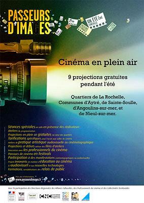 Photo : La Rochelle, Sainte-Soulle, Nieul, Angoulins: Passeurs d'images, ciné en plein air, été 2012