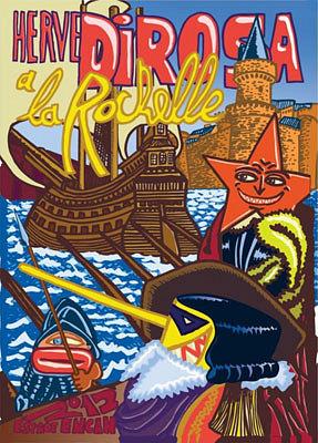 Photo : La Rochelle exposition-événement : Hervé di Rosa, grand format à l'Encan, 6 juillet - 19 août 2012