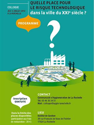 Photo : La Rochelle : un colloque sur les risques technologiques, jeudi 5 juillet 2012