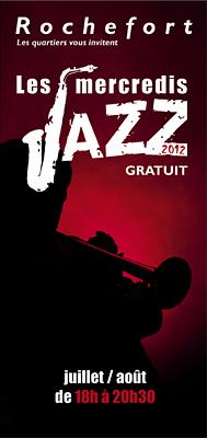 Photo : Concerts à Rochefort : les mercredis jazz, juillet et août 2012 de 18h à 20h30