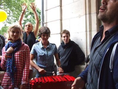 Photo : 15e anniversaire du Chantier des Francos