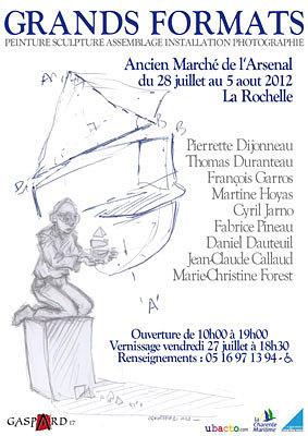 Photo : Exposition à La Rochelle : Grands Formats à l'Ancien marché de l'Arsenal 27 juillet - 5 août 2012