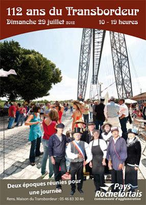 Photo : Rochefort - Échillais : les 112 ans du Pont Transbordeur, dimanche 29 juillet 2012 !
