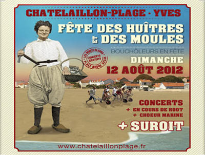 Photo : Châtelaillon-Plage : fête des Boucheleurs, dimanche 12 août 2012 !