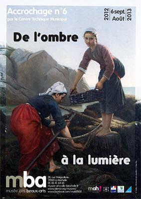 Photo : Exposition à La Rochelle : accrochage n°6 au musée des Beaux-Arts sept 2012 - août 2013