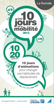 Photo : Agglomération de La Rochelle : les 10 jours de la mobilité 10 - 20 septembre 2012 avec Yélo